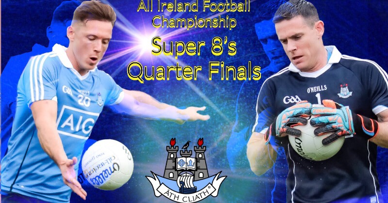 Venues And Throw In Time For Dublin's Super 8's Games Confirmed