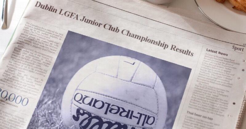 Dublin LGFA Junior Championship Results