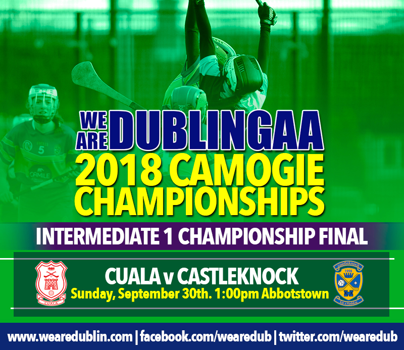 Cuala v Castleknock - Intermediate 1 Camogie Final