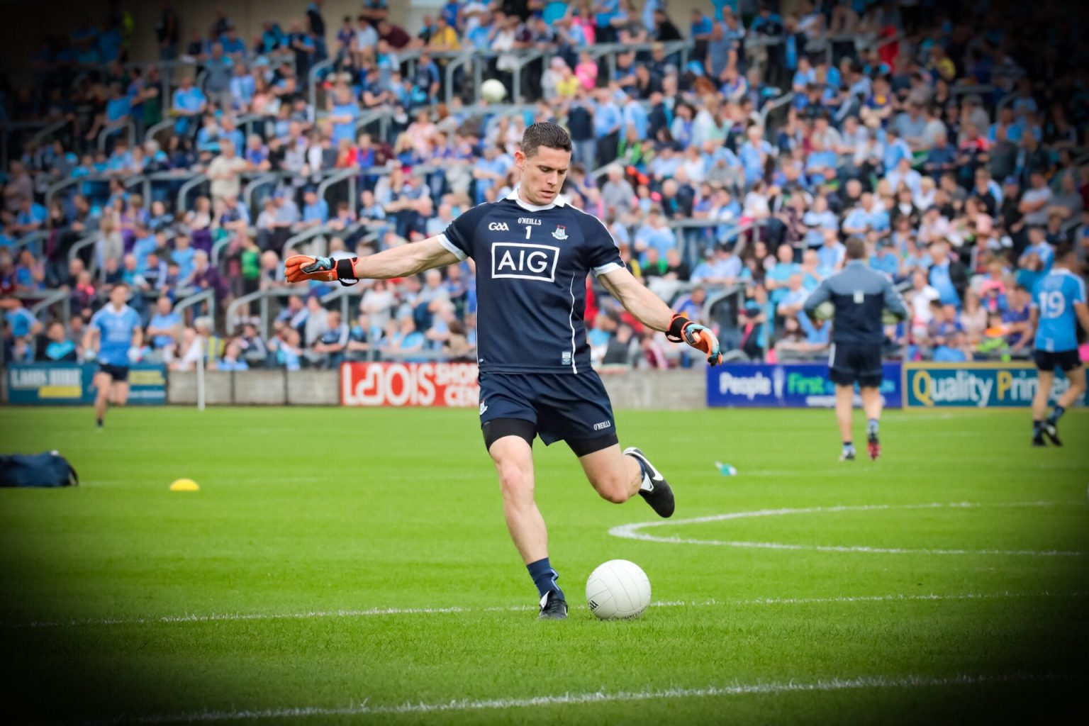 Dublin Captain Stephen Cluxton in a Navy Jersey and shorts has once again been snubbed for an All Star Award