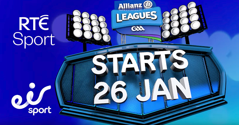 RTE To Share Broadcast Of Allianz League Coverage With Eir Sport