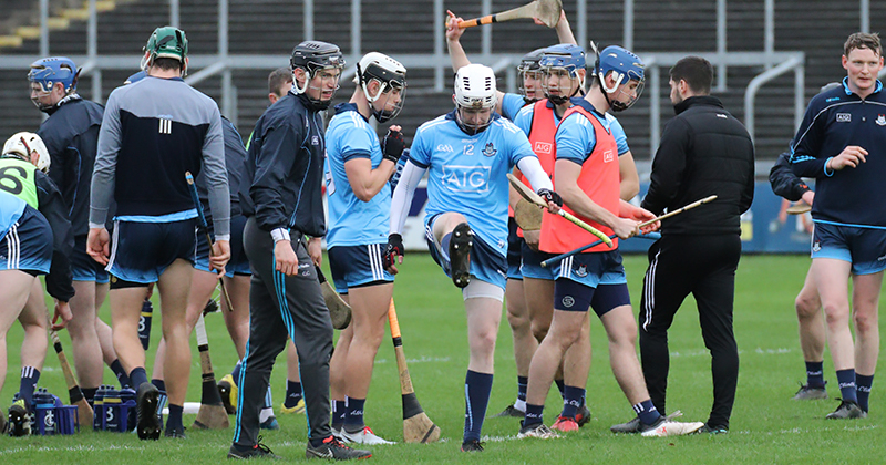 Dubs Open Hurling League Campaign With Six Point Win Over Carlow