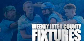 Weekly Inter County Fixtures