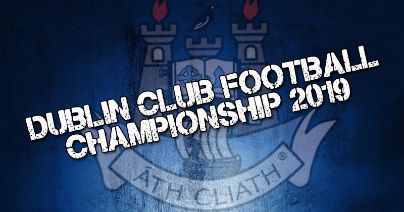 Dublin Senior 1 Football Championship Results