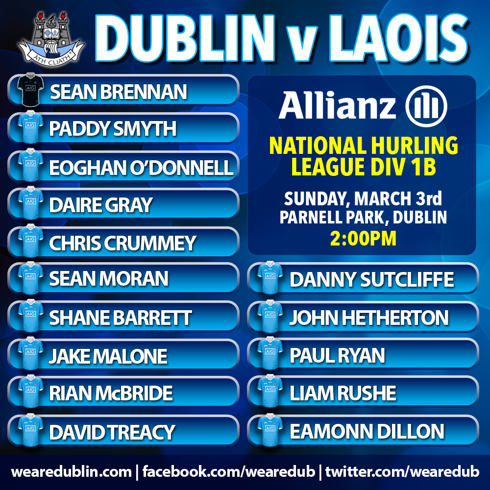 Dublin v Laois - Allianz National Hurling League