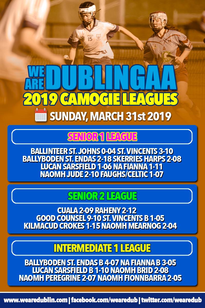 We Are Dublin Senior Camogie League