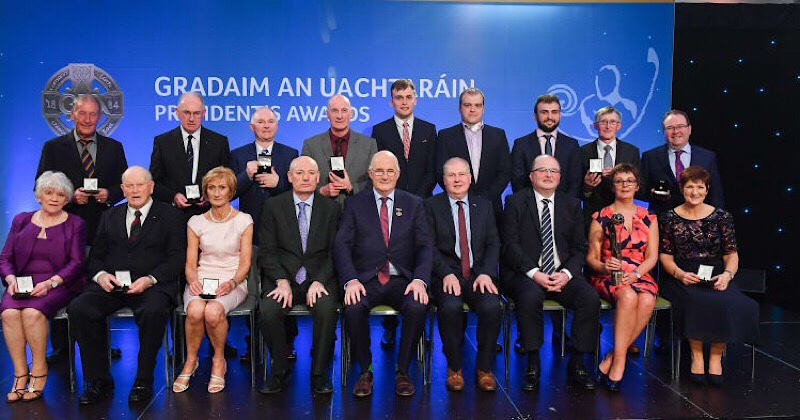 Kathleen Colreavy Presented With GAA President LGFA Award