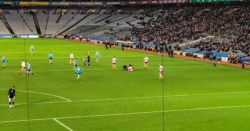 Dublin's League Title Defence Ended By Tyrone In Croke Park