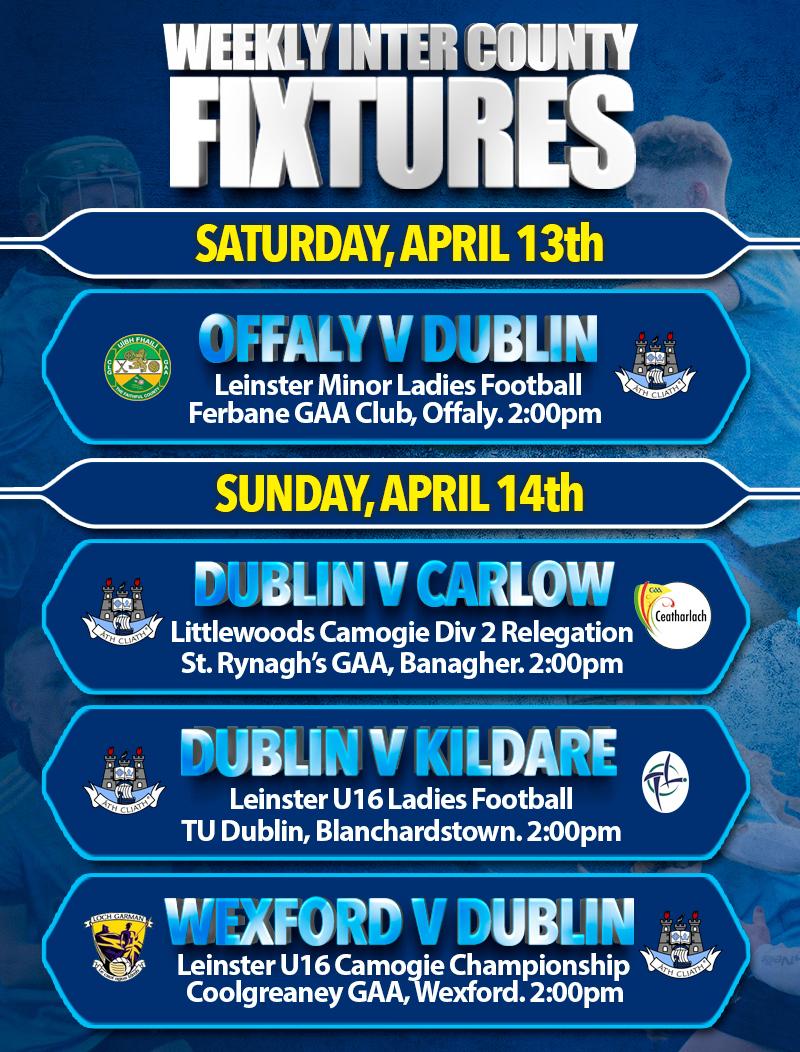 Weekly Inter Count Fixtures