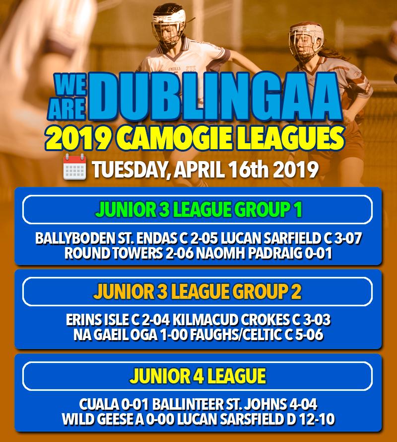 Senior Camogie League - Junior 3 and 4