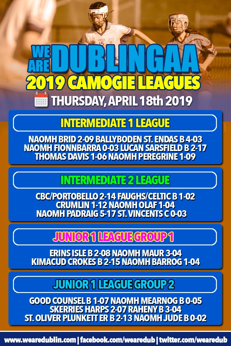 We Are Dublin GAA Senior Camogie League