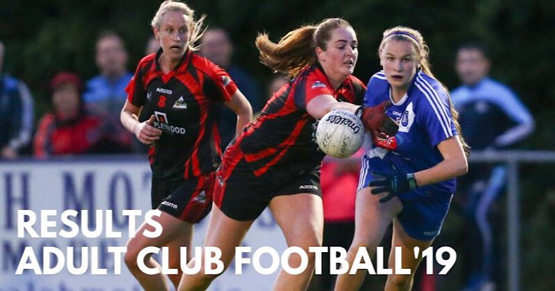 Wednesday Nights Dublin Ladies Football Adult League Results