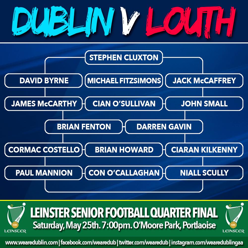 Dublin v Louth - Leinster Senior Football Championship