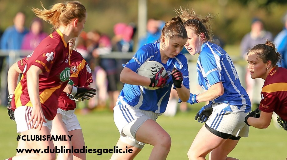 Ladies Footballers in action during the championship as the race to secure the remaining championship semi spots hots up