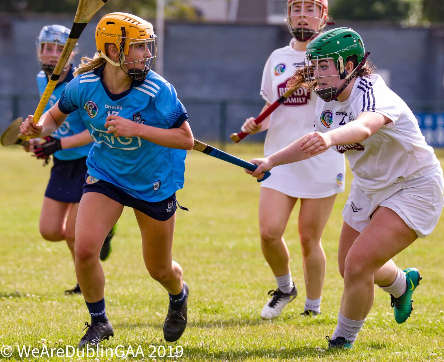Dublin Intermediate Camogie player Gaby Couch who's two second half goals paved the way for Dublin's win against Kildare in the championship