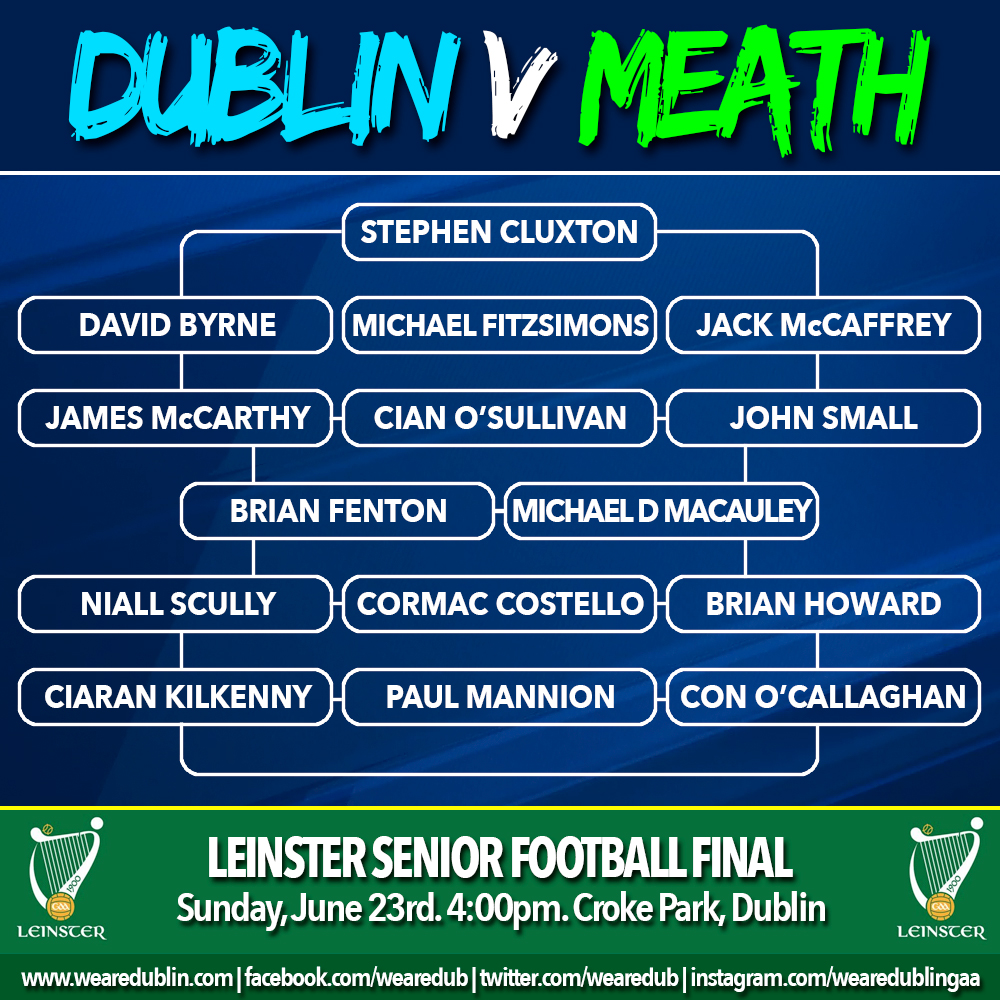 Leinster Final - Dublin v Meath
