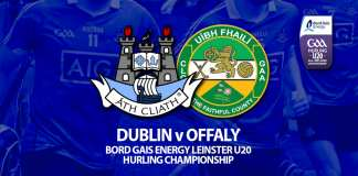 U20 Hurlers - Leinster Championship v Offaly