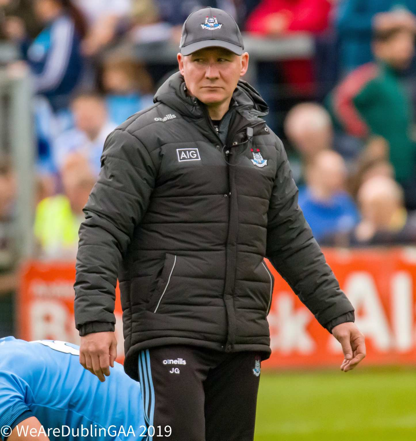 Dublin manager Jim Gavin who expressed his satisfaction in his team's performance against Kildare in their Leinster semi final win