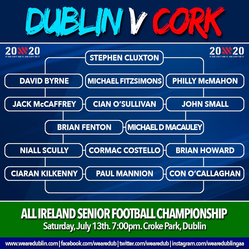 All Ireland Super 8s - Dublin v Cork