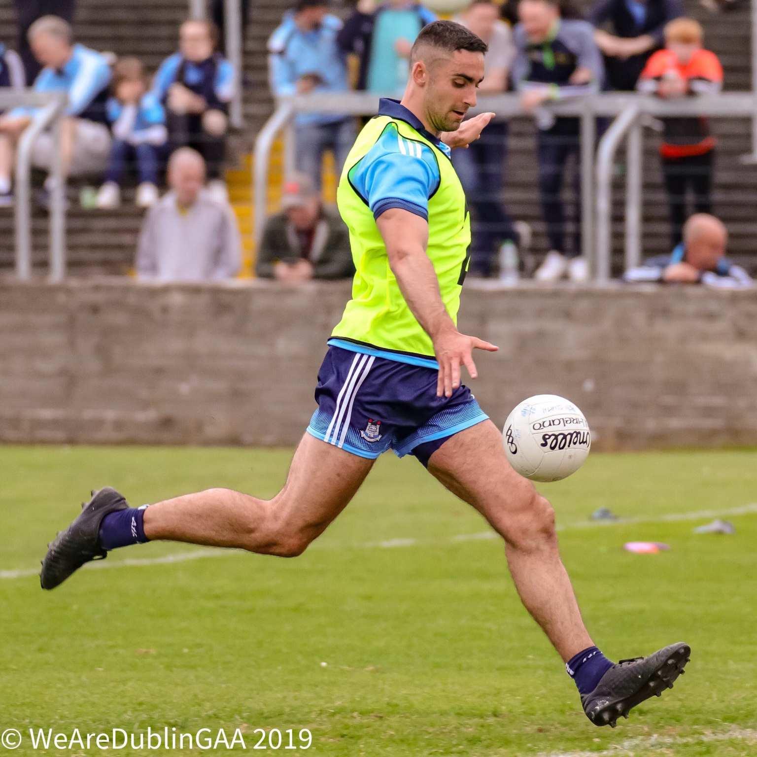 Dublin footballer James McCarthy who scored the winning goal in last year's Tyrone v Dublin game in Healy Park