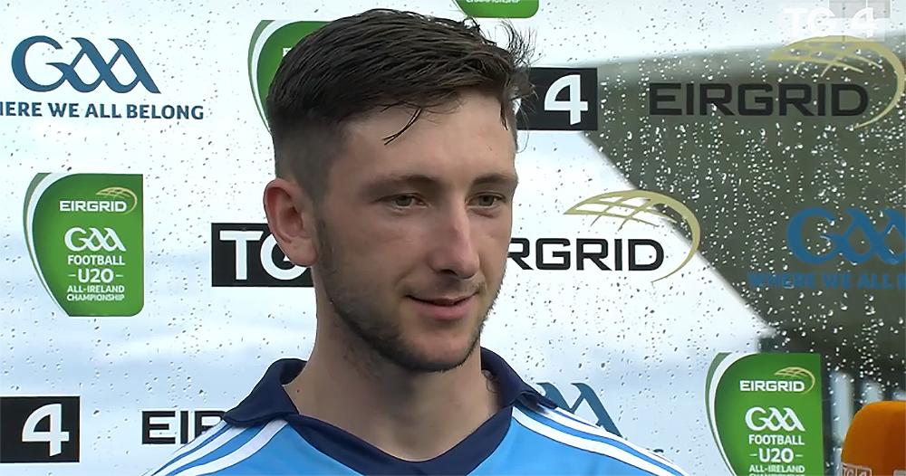 Ciaran Archer - Dublin U20 Football Panel