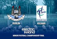 Dublin Minor Football Starting 15 - Leinster Final