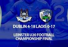 Ciaran Archer - Dublin Leinster U20 Champions