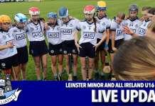 Leinster Minor All Ireland U16 Camogie