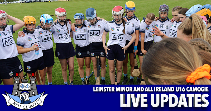 Leinster Minor All Ireland U16 Camogie