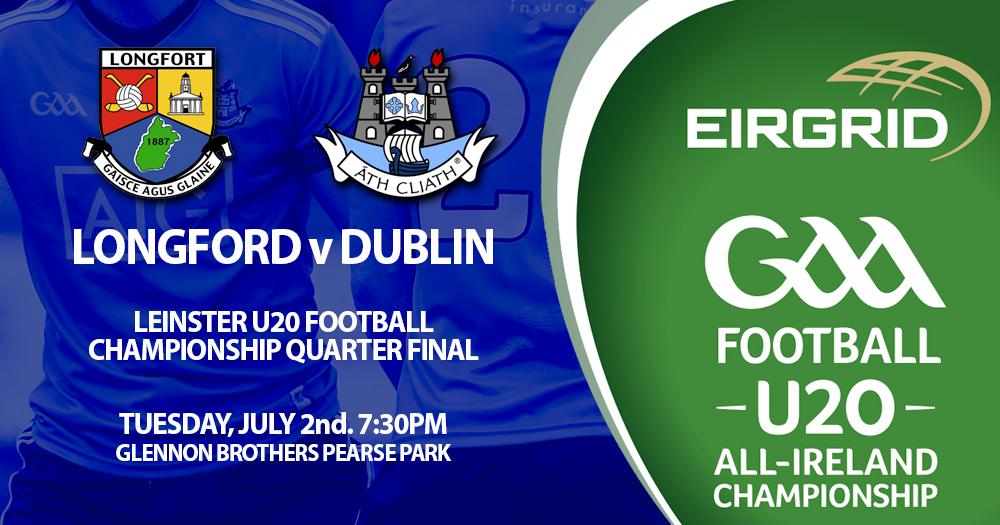 Dublin U20s - Leinster Quarter Final
