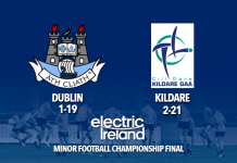 Leinster Minor Football Final - Dublin v Kildare