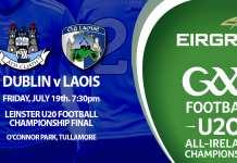 Dublin U20s - Leinster Football Final