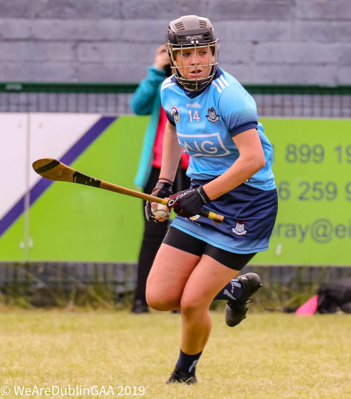 Dublin Senior Camogie Player Kerrie Finnegan who the Dubs will look to for the vital scores in their must win game against Tipperary