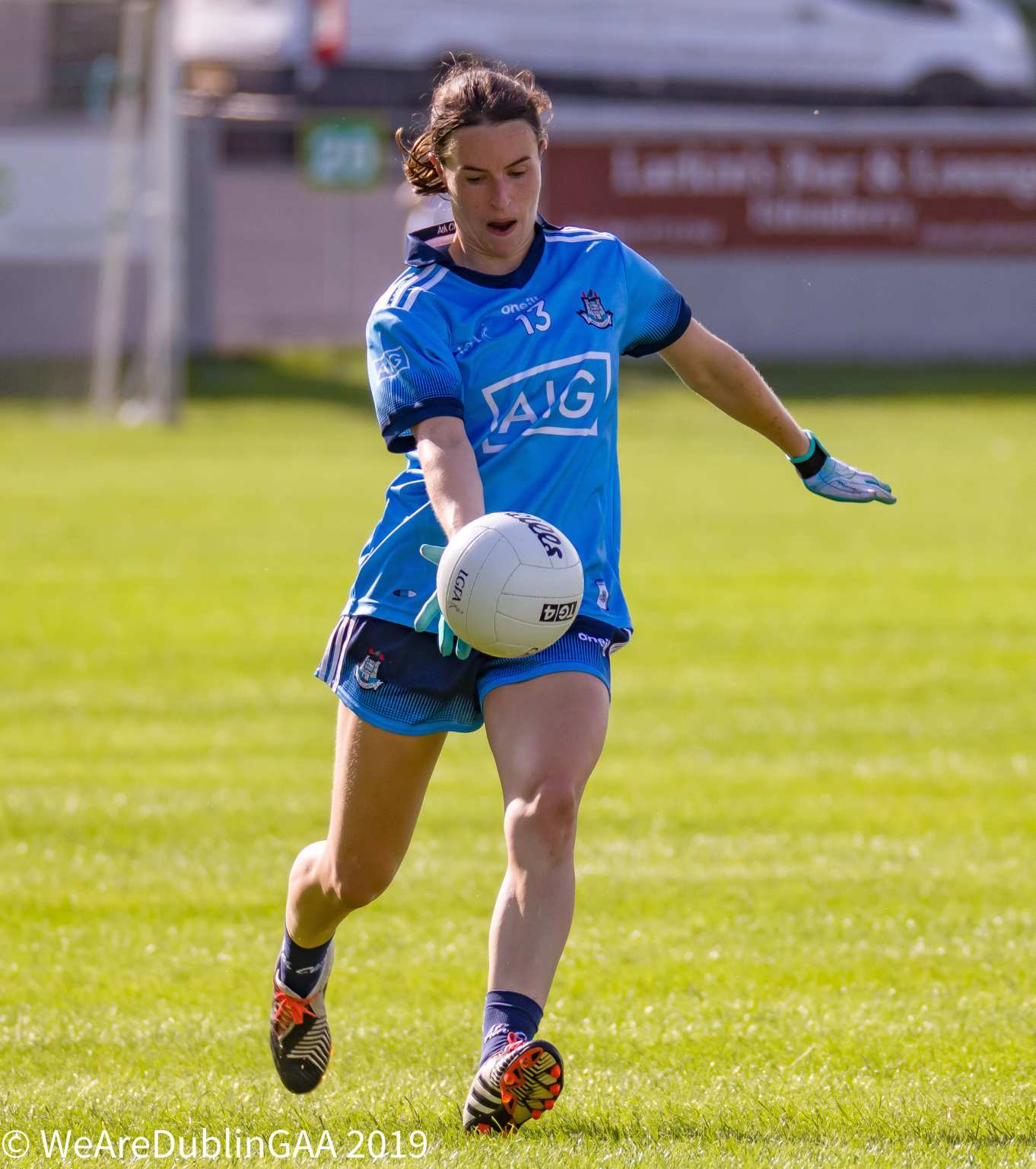 Dublin Senior Ladies Football Team Captain Sinead Aherne has jumped to the top of the Dublin top scorer leaderboard for the Championship