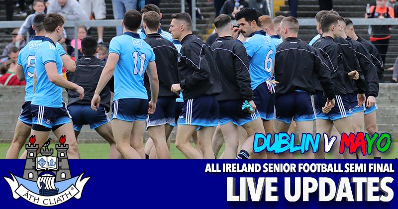 All Ireland Senior Football Semi Final - Dublin v Mayo