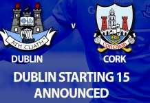 All Ireland Final - Dublin v Cork U20 Championship