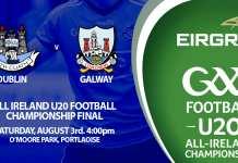 Tom Gray - Dublin v Cork U20 All Ireland Final