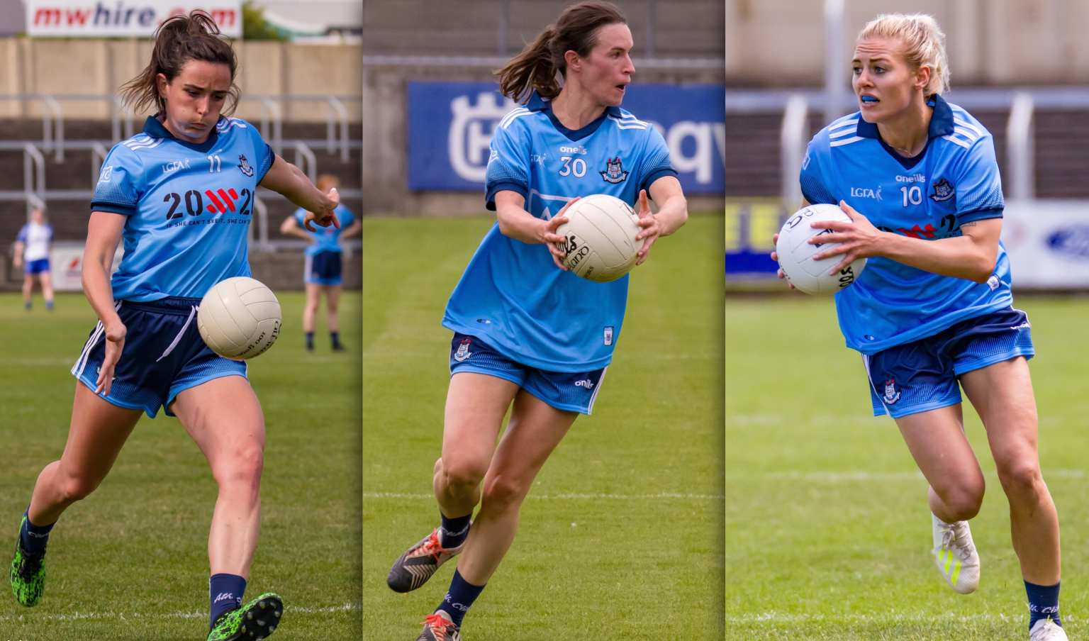 Dublin Footballers Niamh McEvoy, Sinead Aherne and Nicole Owens the top three scorers in the Dublin Championship Top Scorer Leaderboard