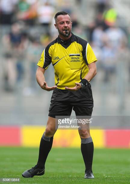 Meath's David Gough Will referee the All Ireland Final between Dublin and Kerry