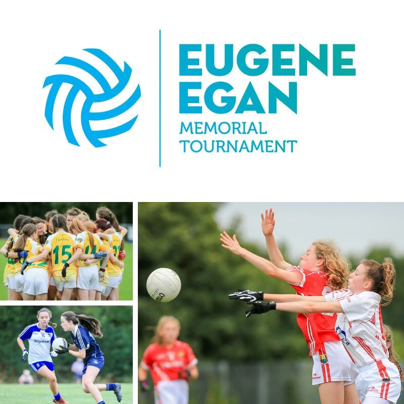 Promotional poster for the 2019 Eugene Egan Memorial Tournament