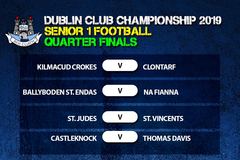 Senior 1 Football Championship Quarter Finals