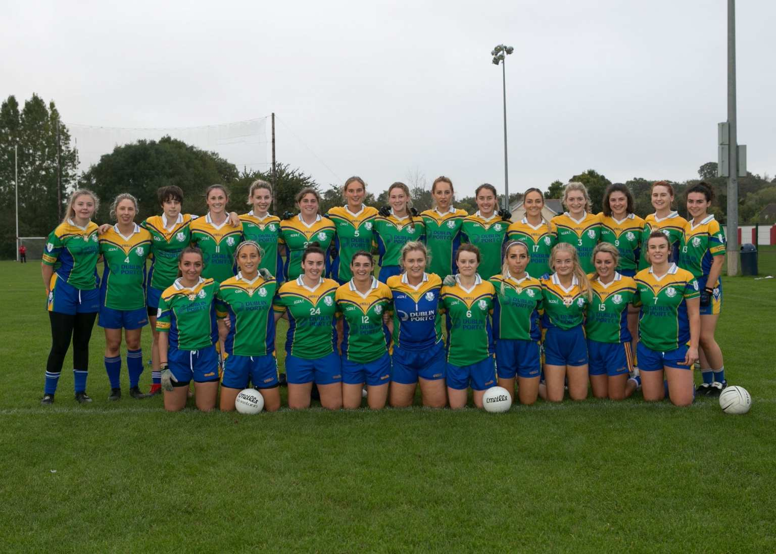 Dublin Intermediate County Champions Clanna Gael Fontenoy Are In Leinster club championship action this weekend