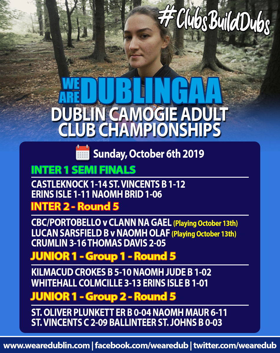 Adult Club Championships - Inter and Junior 1