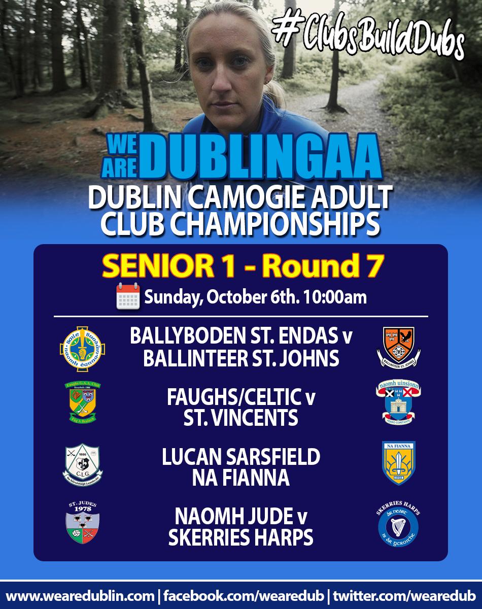 We Are Dublin GAA / Dublin Camogie Adult Club Championships