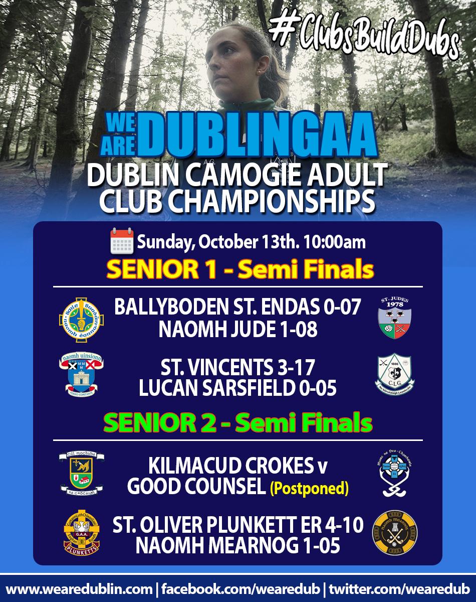 Adult Club Championships - Senior 1 and Senior 2