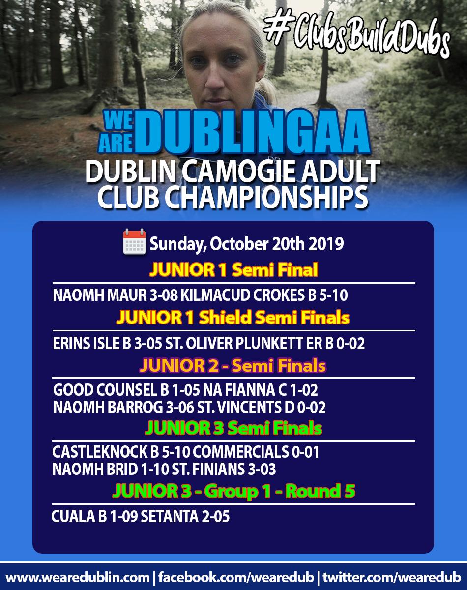 Junior 1 Adult Club Championships