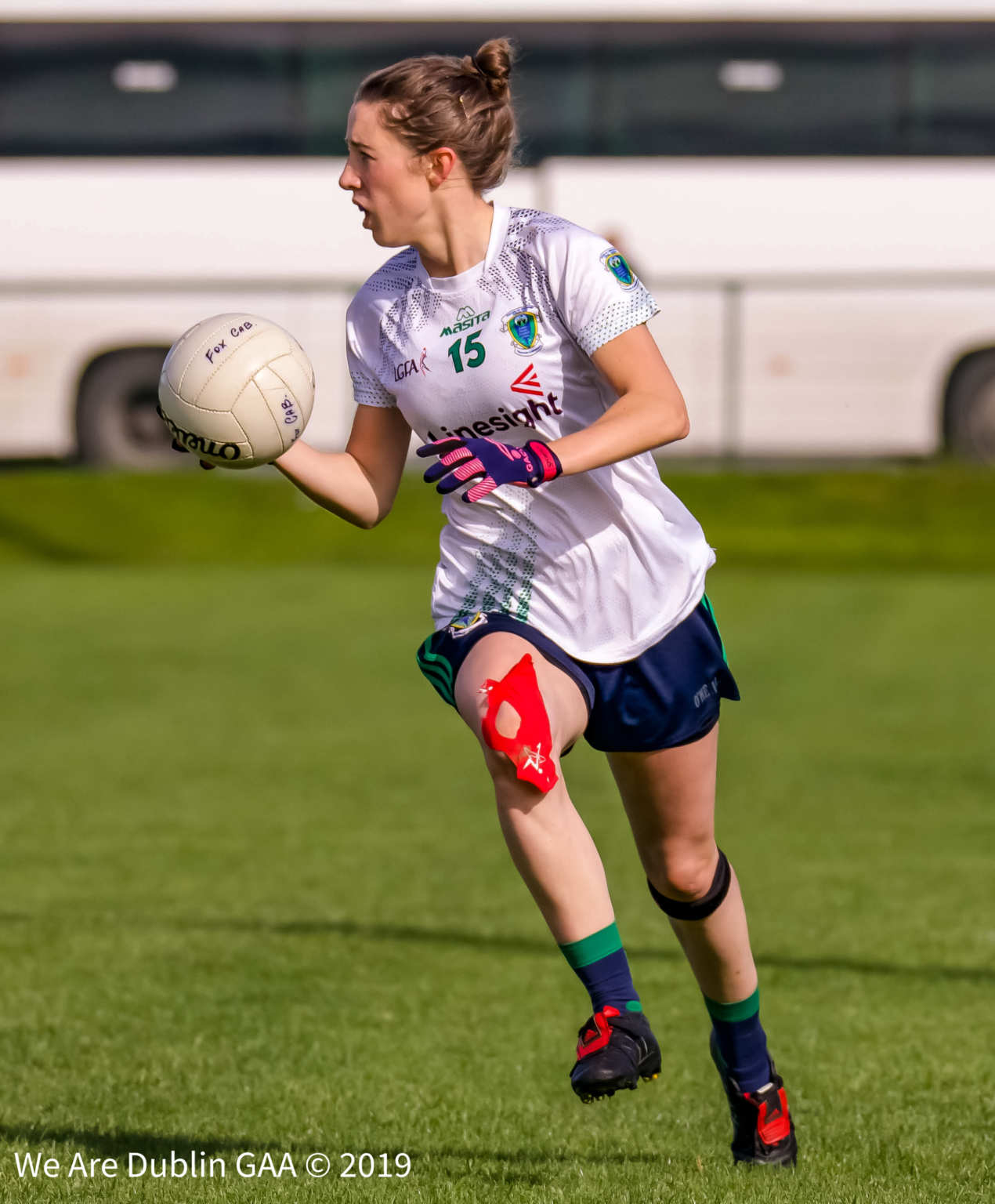 Ladies footballer Amy Ring from Foxrock Cabinteely who play Sarsfields in the Leinster Ladies Club Football Championship Final.