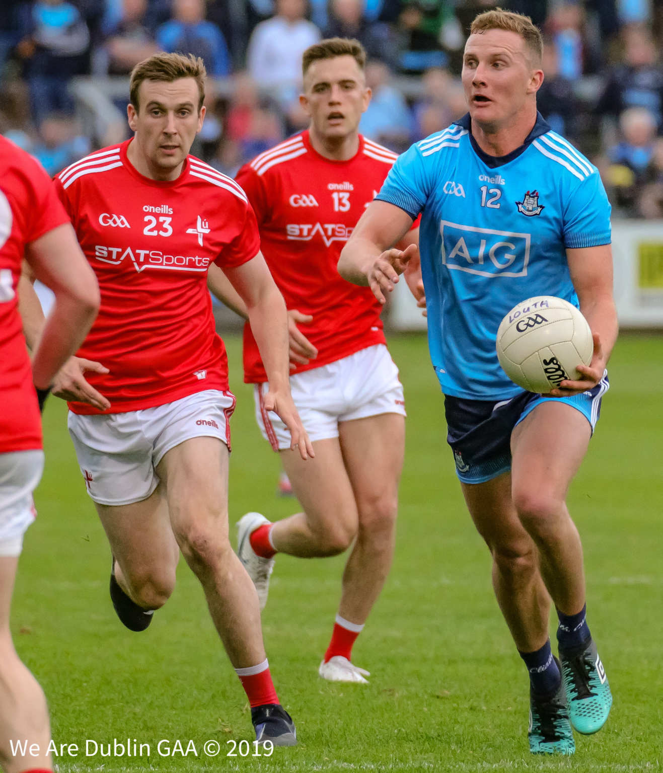 Dublins Ciaran Kilkenny in action against Louth in this years Leinster Championship, the draw for the 2020 Leinster championship takes place this Monday.