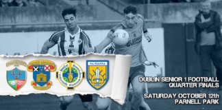 Dublin Senior 1 Football Quarter Final Live Updates