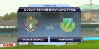 Senior B Hurling - Scoil Ui Chonaill v Thomas Davis